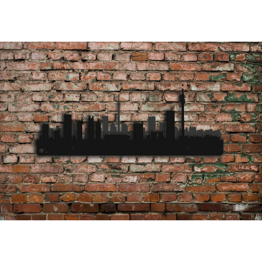 Johannesburg Skyline Steel Wall Art