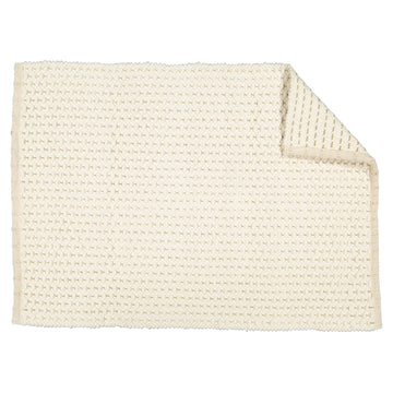 Fancy Twill with Jute Bath & Bedside Mat - KNUS