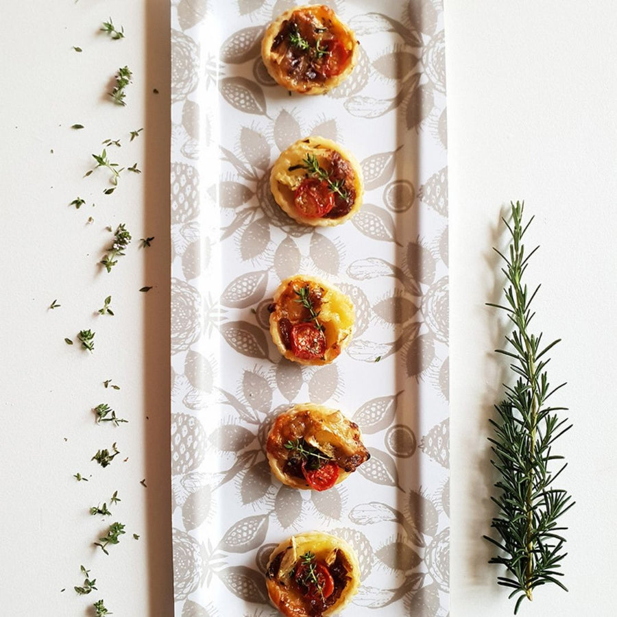 Tree Fruit Stone Canapé Tray