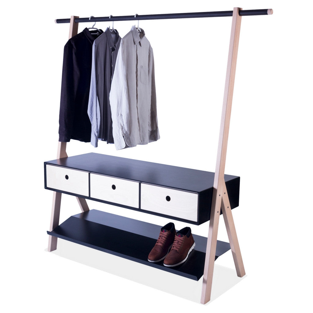 Slant Clothing rail