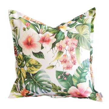 Hibiscus Coral Scatter Cushion - KNUS