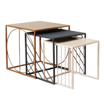 Geometric Nesting Tables