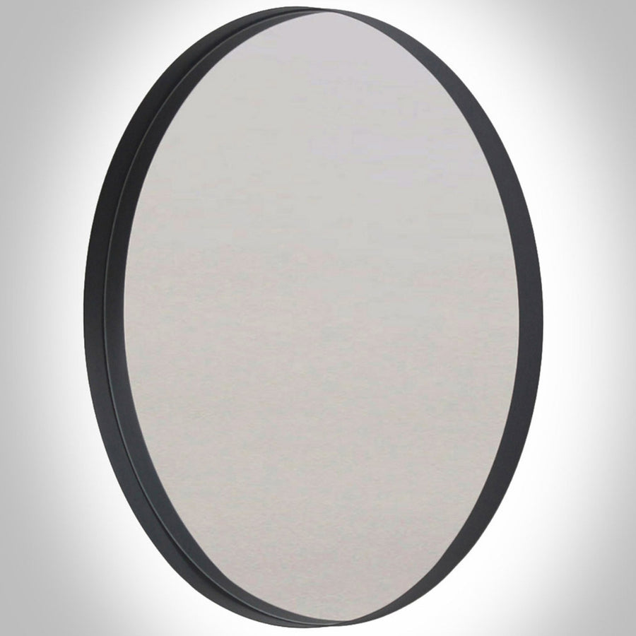 LED Backlit Deep Frame Circular Wall Mirror - KNUS