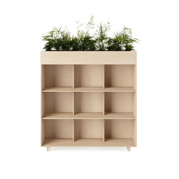 Fin Bookshelf Planter - KNUS