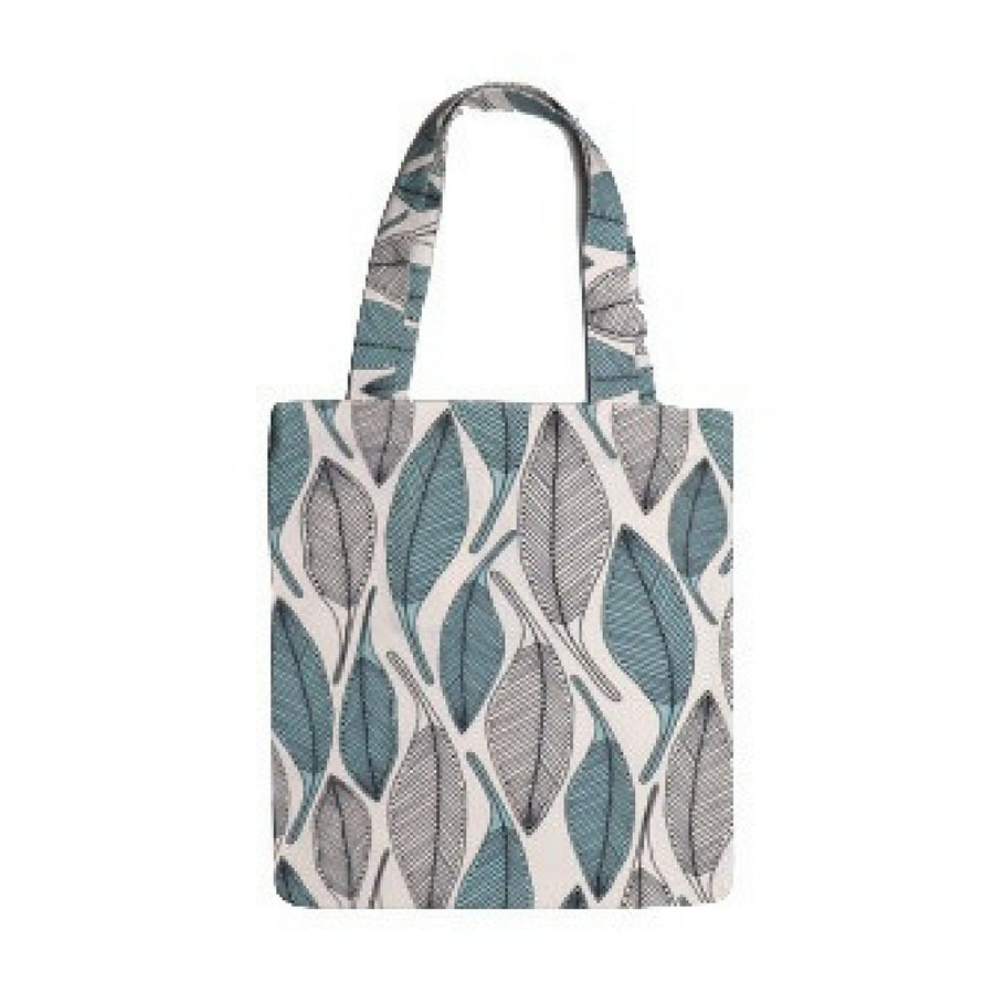 Leaves Blue Tote Bag - KNUS