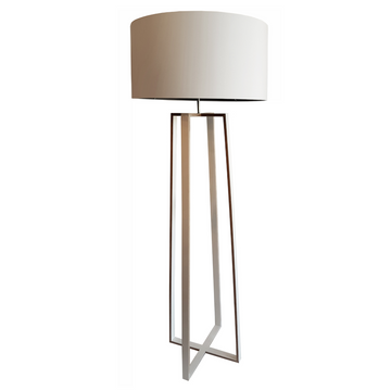 Cross Floor Lamp in Birch - KNUS