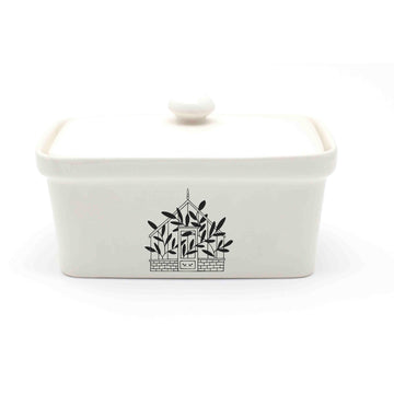 Greenhouse Ceramic Butter Dish - KNUS