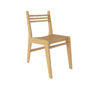 Simple Chair - Natural