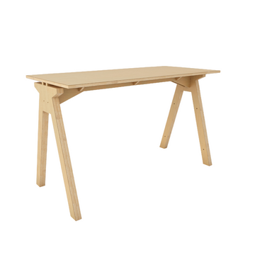 Simple T Desk - Natural - KNUS