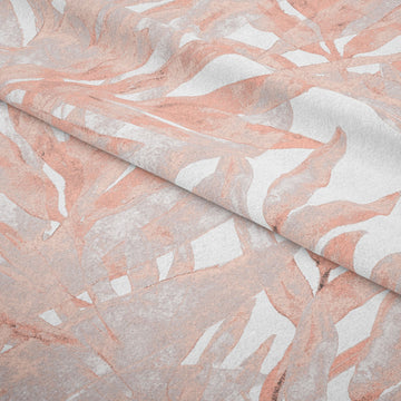 Foliage Pink Fabric - KNUS