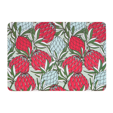 Leaves Protea Red Melamine Placemat - KNUS