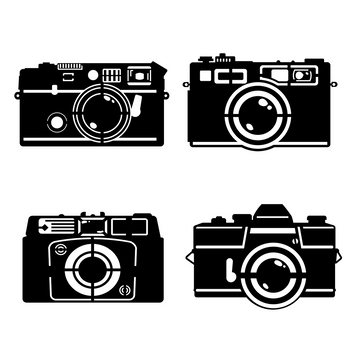 Camera Set Steel Wall Art - KNUS