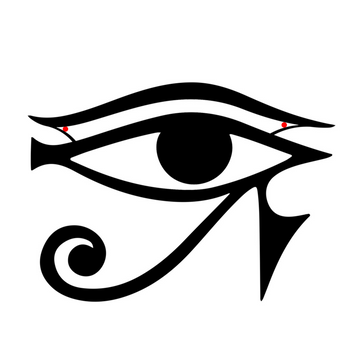 Eye of Horus Steel Wall Art - KNUS