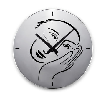 Let's Face It Wall Clock - KNUS