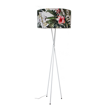 Tropical Mia White Floor Lamp - KNUS