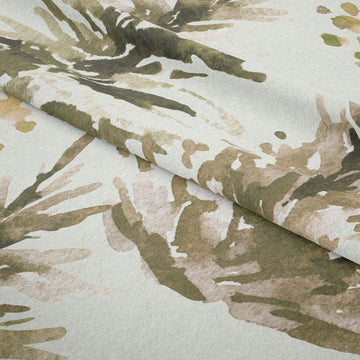Water Colour Shrubs Fabric - KNUS