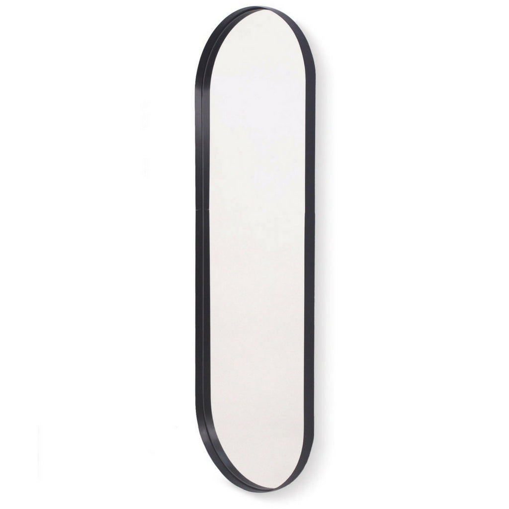 Deep Frame Pill Wall Mirror