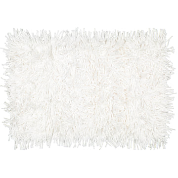 Shaggy White T-Shirt Mat - KNUS