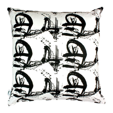 William Kentridge Musical Landscape Scatter Cushion - KNUS