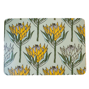 King Protea Yellow Placemat - KNUS