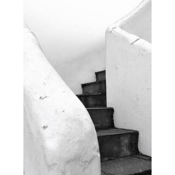 Black Stairs Art Print - KNUS