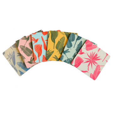 Botanicals Coaster Set of 6 - KNUS