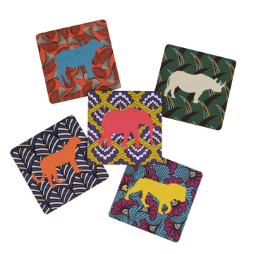 Lionise Coaster Set of 5 - KNUS