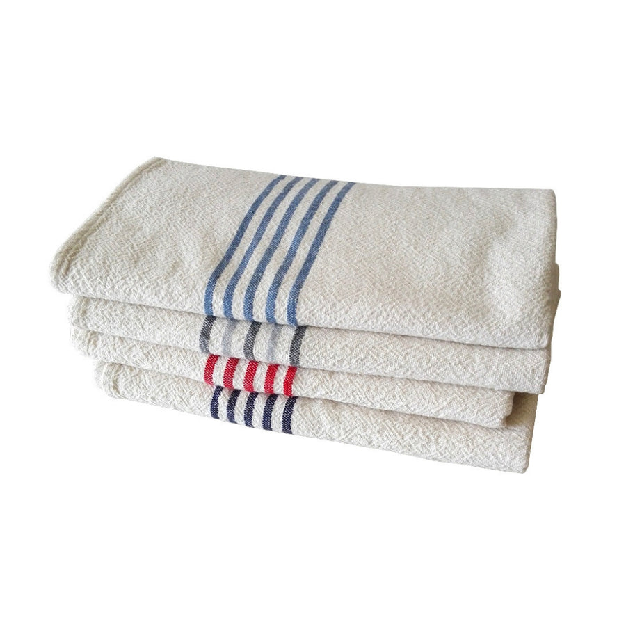 French Country Stripe on Ends Towel - KNUS