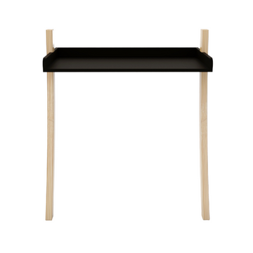 Leaning Desk, Black - KNUS