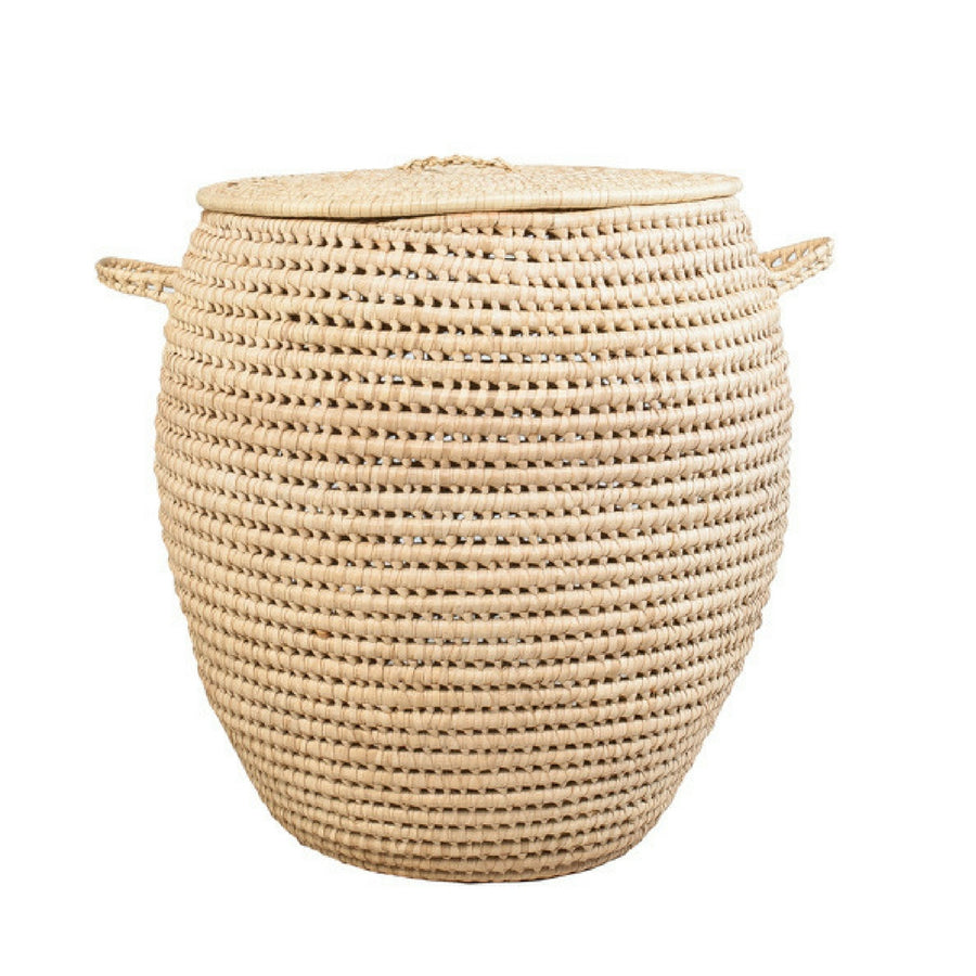 Illala Palm Laundry Basket