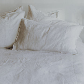 Beau Linen Bed Set Queen - KNUS