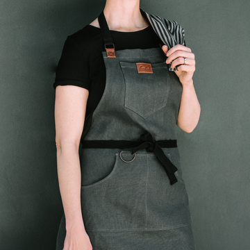 Hemp Canvas Apron - KNUS