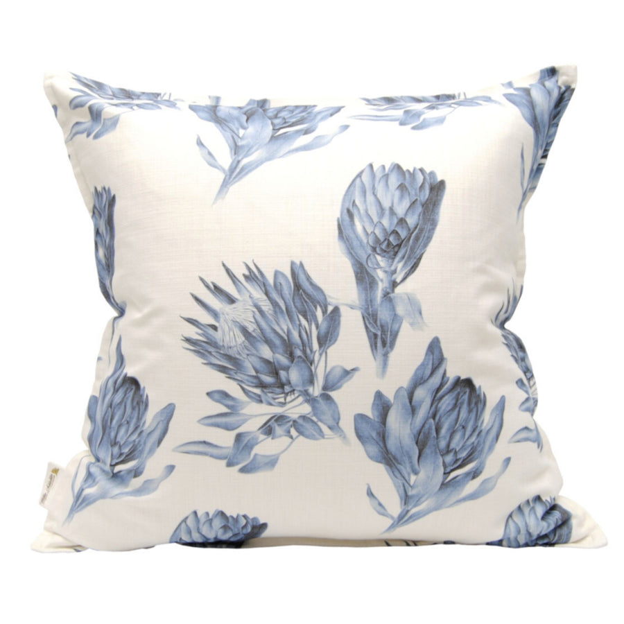 Blue Protea Mix Scatter Cushion - KNUS
