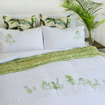 Botanicals Duvet Cover Set- KNUS