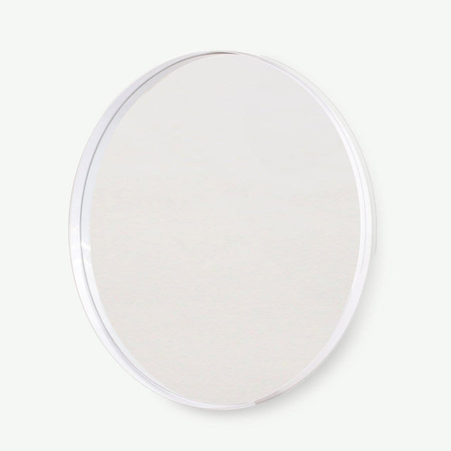Arkivio LED Backlit White Deep Frame Mirror - KNUS