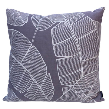 Plantation on Silver Scatter Cushion - KNUS