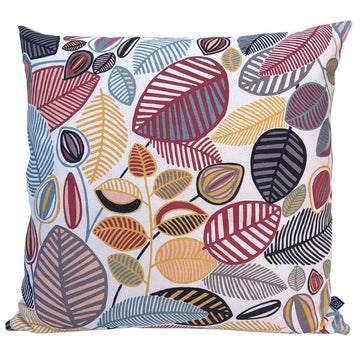 Stillo Terracotta Digital on Parchment Scatter Cushion - KNUS