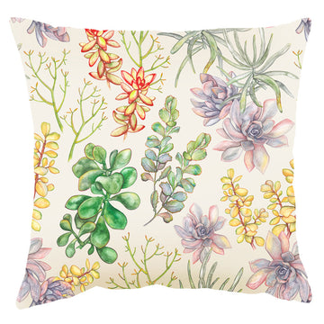 Succulent Parchment Light Scatter Cushion - KNUS