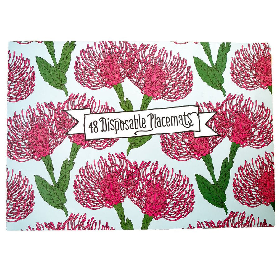 Protea Kingdom Disposable Placemats - KNUS