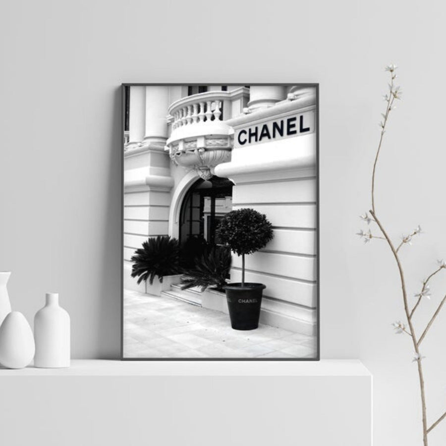Chanel Store Front Art Print