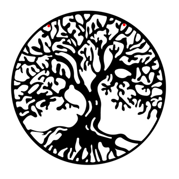 Tree of Life Steel Wall Art - KNUS
