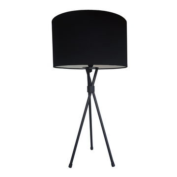 Black Mia Table Lamp - KNUS