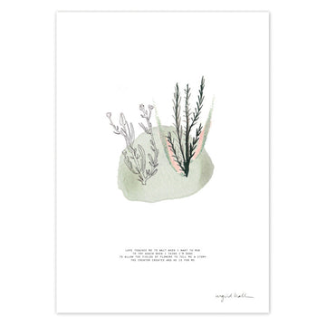 Love Teaches Me Art Print - KNUS