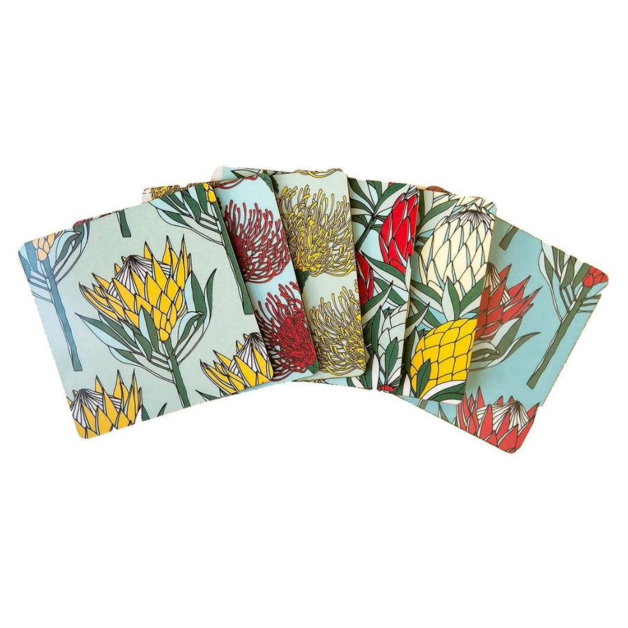 Protea Kingdom Coaster Set of 6 - KNUS