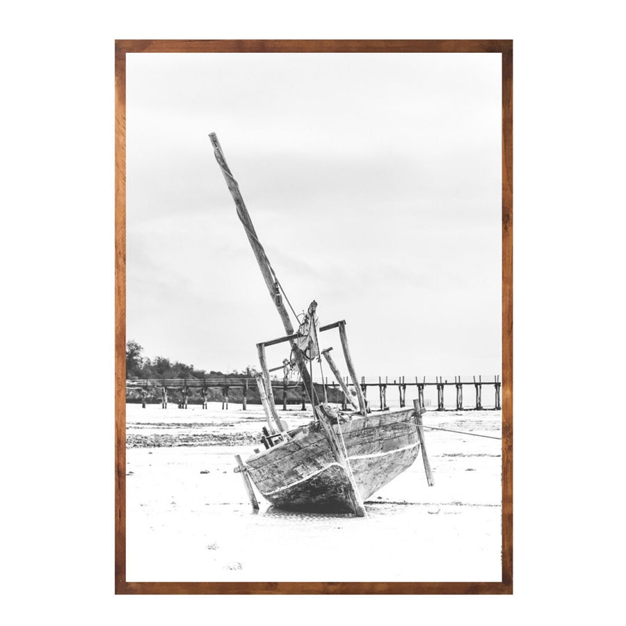 Low Tide Art Print - KNUS