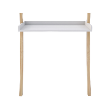 Leaning Desk - White - KNUS