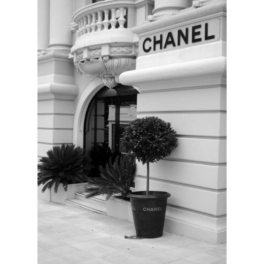 Chanel Store Front Art Print - KNUS