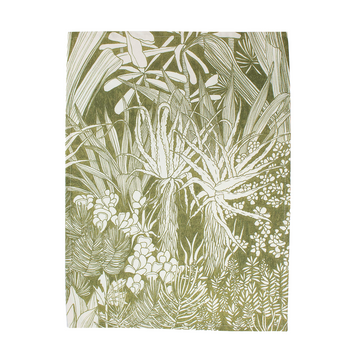 Urban Forest Ochre Tea Towel - KNUS