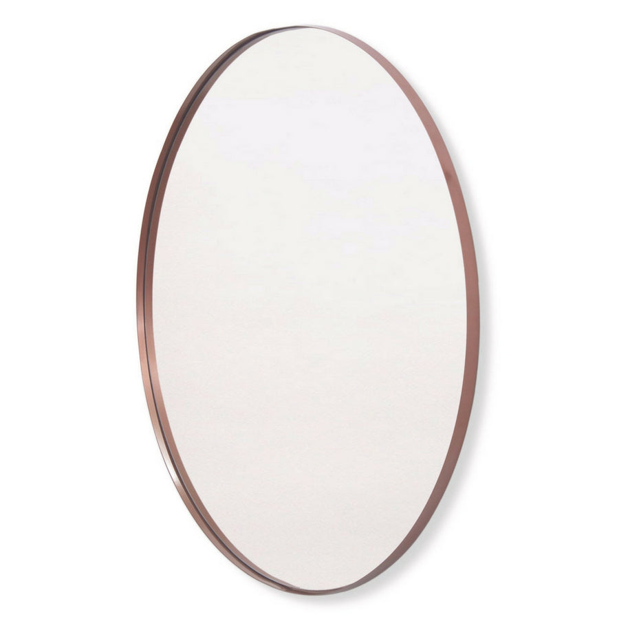 Copper Deep Frame Circular Mirror - KNUS