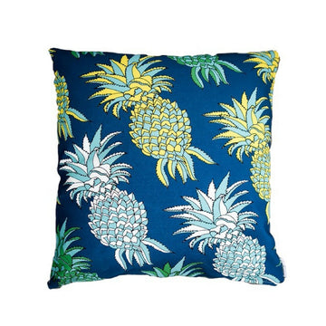Pineapples (Blue) & Delicious Monster (Mint) Scatter Cushion - KNUS